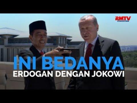 Ini Bedanya Erdogan Dengan Jokowi