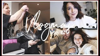 GETTING MY HAIR DONE & BED CHATS  | VLOGMAS