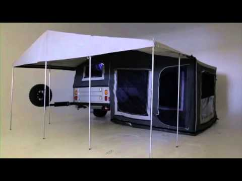 Delta Black Series Camper Trailer
