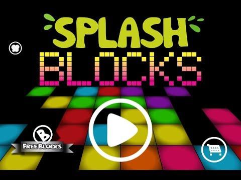 Video of SplashBlocks