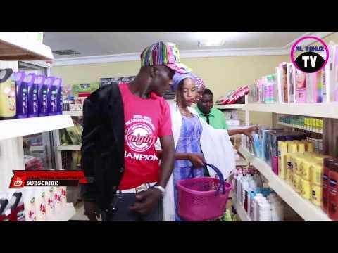Gundura Da Naburaska Karya A Super Market (Arewa Comedians)