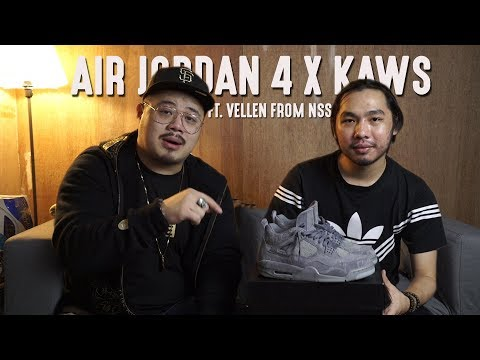 Air Jordan 4 X KAWS Review Ft. Vellen From North Sneaker Squad