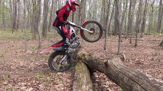 6. Sharing a Log Hopping Tip - Montesa Cota 4rt 260