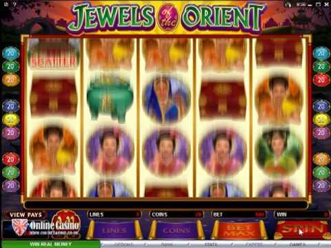 Jewels of the Orient - Online Slot Machine