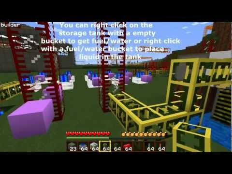 Minecraft Buildcraft Tutorial- Motors,Pipes,Quarries, and Sorting (Basics)