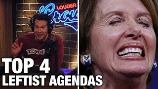 Download Video TOP 4: Leftist Agendas That Will Re-Elect Trump!   Louder With Crowder MP3 3GP MP4