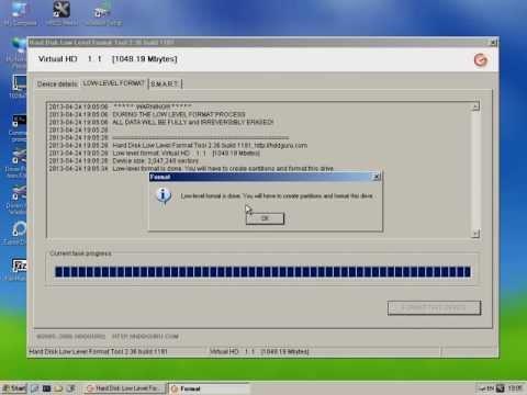 Hirens Boot Mini Windows HDD Low Level Format Tools