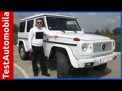 MERCEDES G 3.0 TD automatic 2001 test