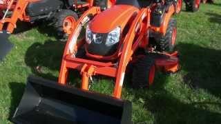 8. Kioti Tractor - CS2410 Sub-Compact Tractor
