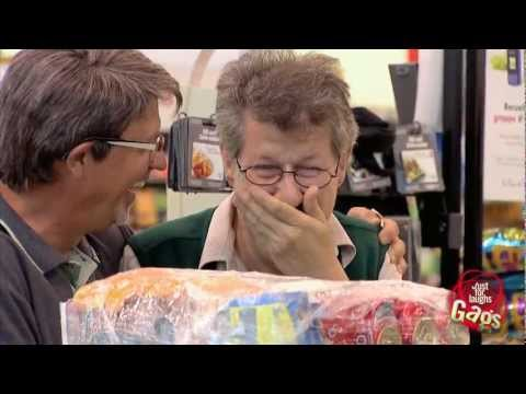 Ridiculous Grocery Wrapping Prank