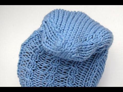 Socken stricken * Sockenkurs #14 * Bandspitze * Spitze mit Maschenstich schließen