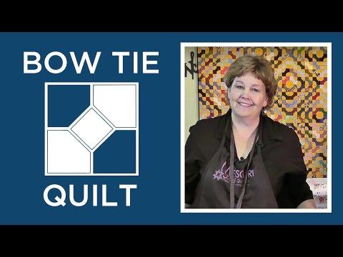 , title : 'Make a Bowtie Quilt Block - Easy Quilting Tutorials'