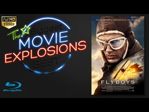 The Best Movie Explosions: Flyboys (2006) Air Ship Explosion [HD]