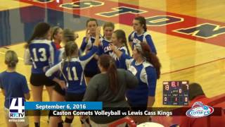 Caston Comets Volleyball vs Lewis Cass Kings