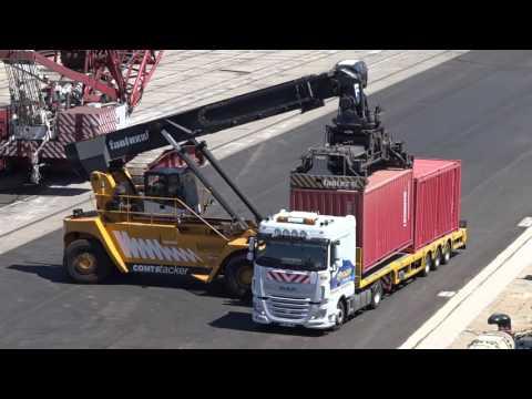 Réalisation de l'infrastructure maritime de l'extension en mer de Monaco