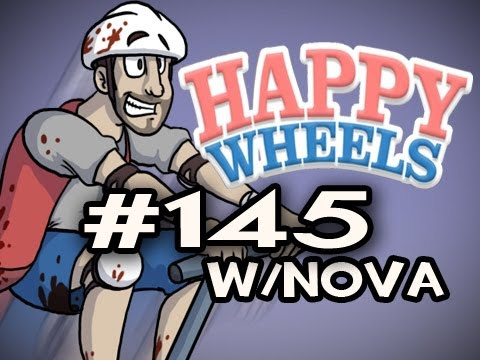 Happy Wheels w/Nova Ep.145 - RAGE INDUCING WILD WEST Video