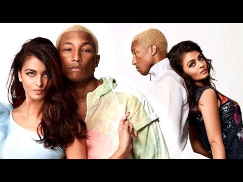 Aishwarya Rai Bachchan - Pharrell Williams Vogue A