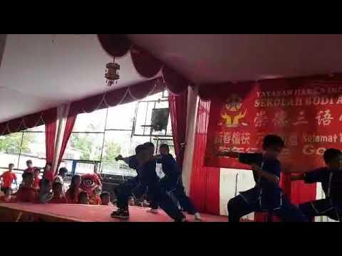 Wushu di sekolah Budi Agung