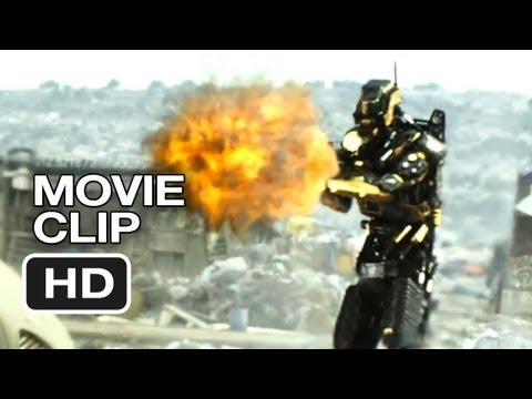 Elysium Movie CLIP - The Heist (2013) - Matt Damon Sci-Fi Movie HD