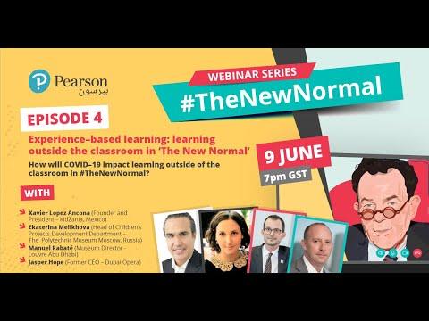 Episode 4 of #TheNewNormal webinar series from Pearson