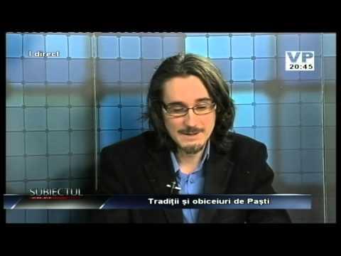 Emisiunea Subiectul zilei – Dragoș Grigorescu – 9 aprilie 2015