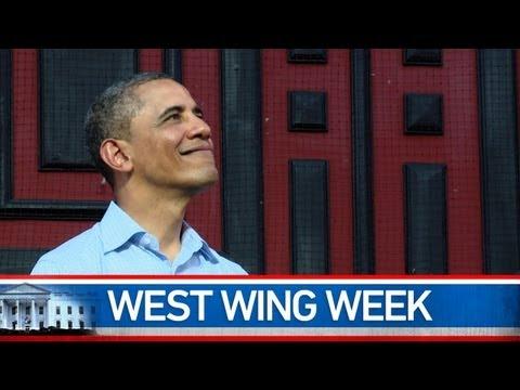 """West Wing Week: 4/20/12 or Roll Tide"""""""