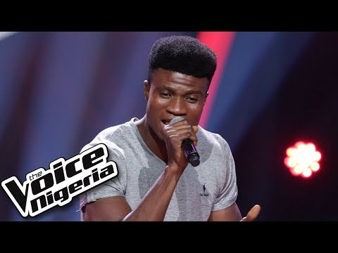"Isaac Aloma sings ""Okay"" / Blind Auditions / The Voice Nigeria Season 2"