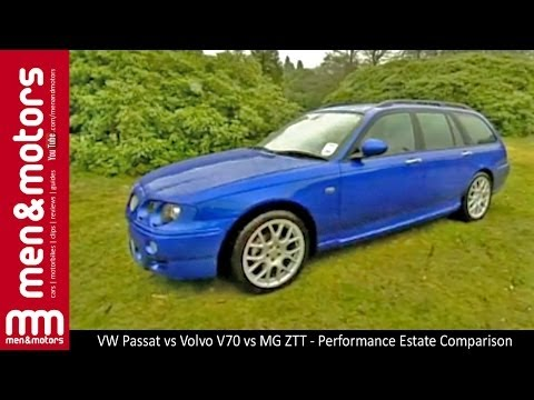 MG ZTT vs VW Passat W8 vs Volvo V70 T5 – Performance Estate Comparison & Review
