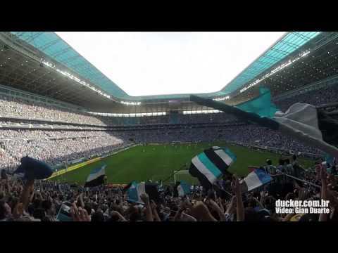 No meio da torcida do Grêmio - Geral do Grêmio - Grêmio
