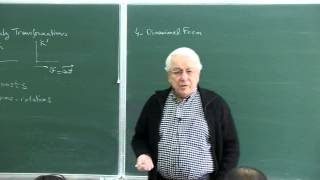 METU - Quantum Mechanics II - Week 12 - Lecture 1