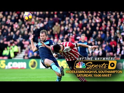 Video: Premier League Preview: Middlesbrough v. Southampton
