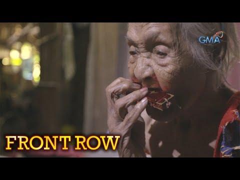 Video Front Row: Itinuturing na pinakamatandang tao sa Pilipinas, kilalanin download in MP3, 3GP, MP4, WEBM, AVI, FLV January 2017