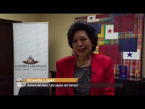 La distinguida periodista Griselda López presenta su libro 'Las capas del tiempo'