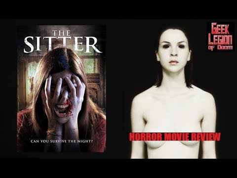 THE SITTER ( 2017 Aisling Knight ) aka DARKNESS WAKES Horror Movie Review