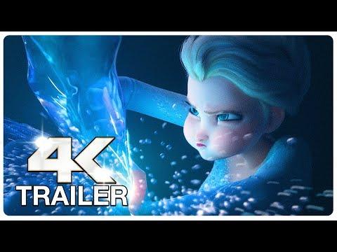 FROZEN 2 : 5 Minute Trailers (4K ULTRA HD) NEW 2019