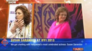 Susan Sarandon at IFFI 2013