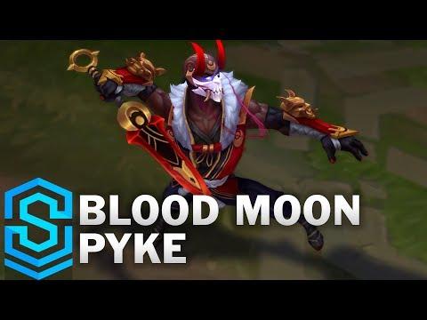 Pyke Huyết Nguyệt - Blood Moon Pyke