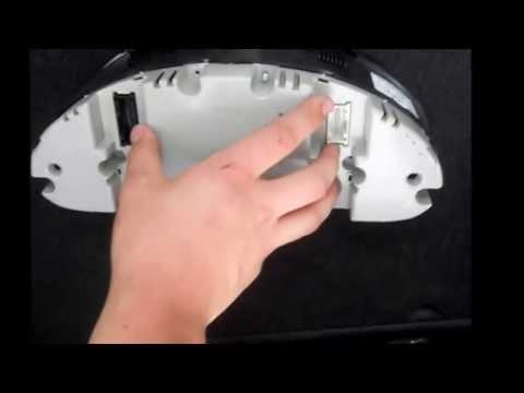BMW E46 316ti Tachoscheibe Tachoringe tauschen wechseln