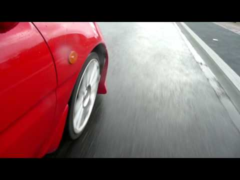 Mazda Mx3 Close up wheel