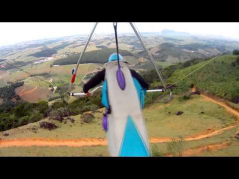 Luiz da Cunha Voo com vento forte em Solidão