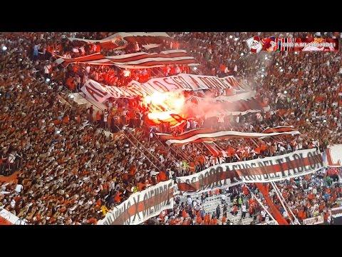 BANDERAS NEGRAS PARLANTES NO HAY + FIESTA - River Plate vs Sao Paulo / Copa Libertadores 2016 - Los Borrachos del Tablón - River Plate