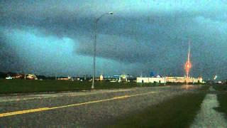 Fremont, Nebraska Supercell (August 31, 2014) Video # 2