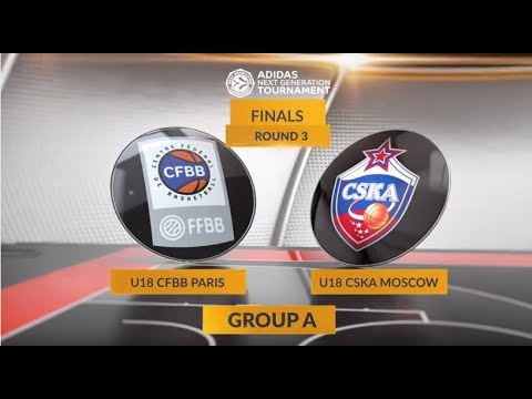EB ANGT Finals Highlights: U18 CFBB Paris-U18 CSKA Moscow