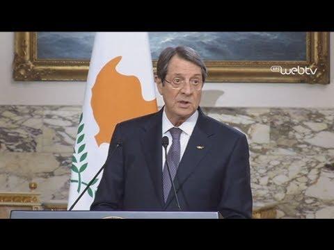 Αναστασιάδης:Εξετάσαμε τρόπους περαιτέρω ενίσχυσης συνεργασίας υιοθετώντας τη διακήρυξη του Καϊρου
