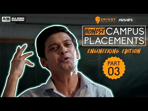 Video AIB : Honest Engineering Campus Placements   Part 03 download in MP3, 3GP, MP4, WEBM, AVI, FLV January 2017