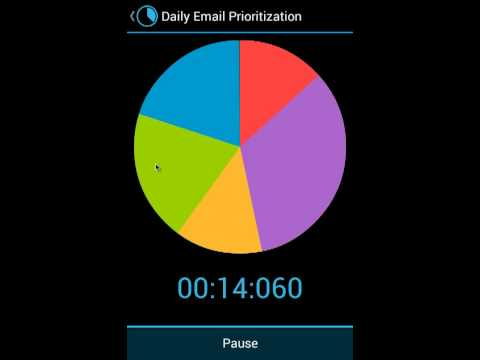 Video of Activity Timer Holo Trial