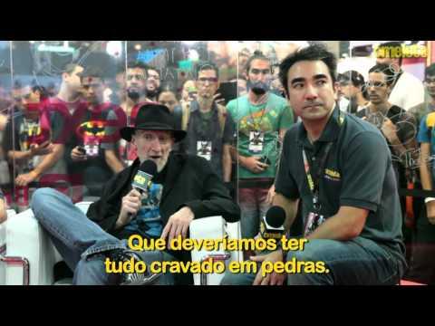 Omelete Entrevista Frank Miller na CCXP 2015
