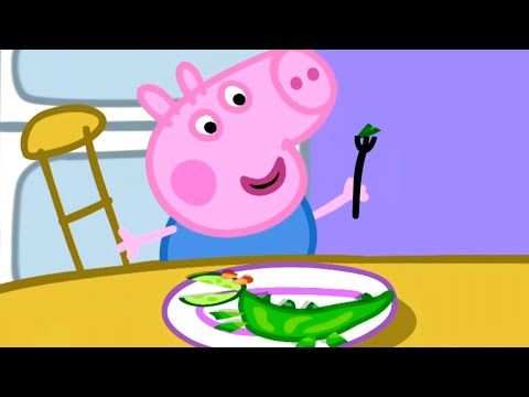 Peppa Pig Official Channel   Vegetables for George 🎄Peppa Pig Christmas