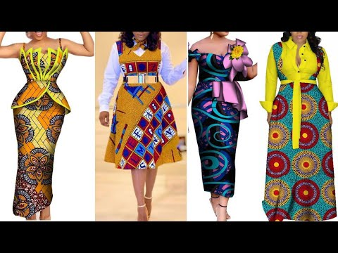 LATEST FASCINATING & AWESOME ANKARA COLLECTIONS AFRICAN FASHION #ASOEBI STYLES FOR GORGEOUS QUEENS