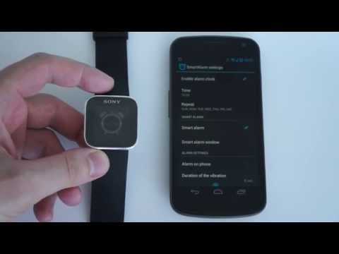 Video of Smart Alarm for SmartWatch